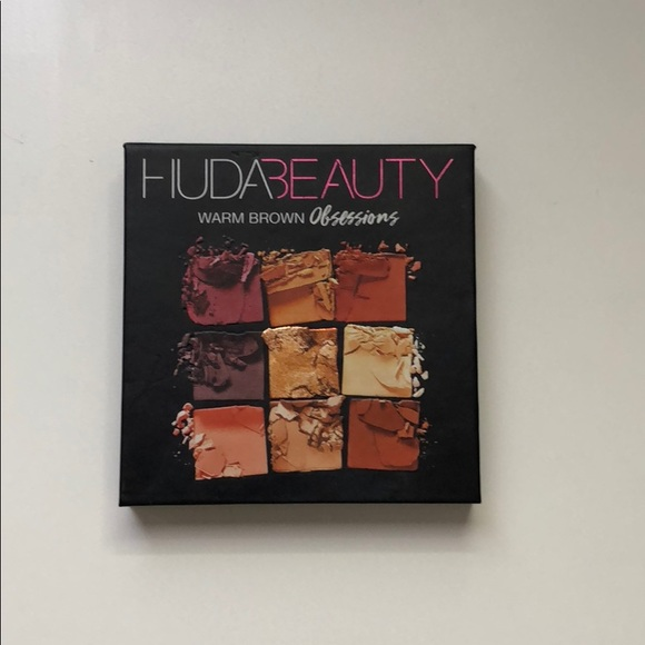 Sephora Other - Huda Beauty Warm Obsessions Palette